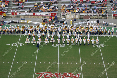 WVU vs Maryland - Pregame Formations - 9/20/03