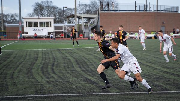 Men's Soccer takes on VMI