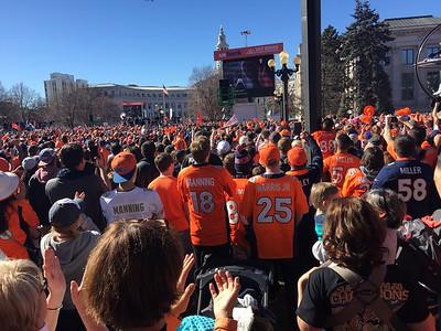 Denver Broncos Super Bowl Parade