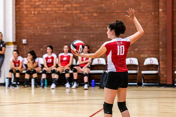 Bishop - Girls Volleyball - 9-17-19