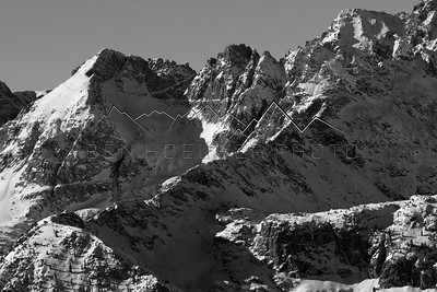 Sawtooth Ridge in the Northern Sawatch Range, CO