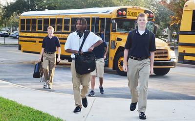 Oxbridge Academy - First Day of School 9.7.11