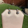 .69ctw Vintage Diamond Double Drop Earrings, French 4