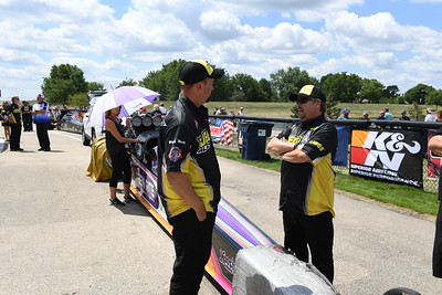 Jegs All Stars Top Alcohol Staging Lanes