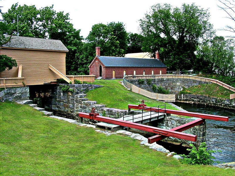 Francis Gatehouse - Pawtucket Canal - Lowell, MA