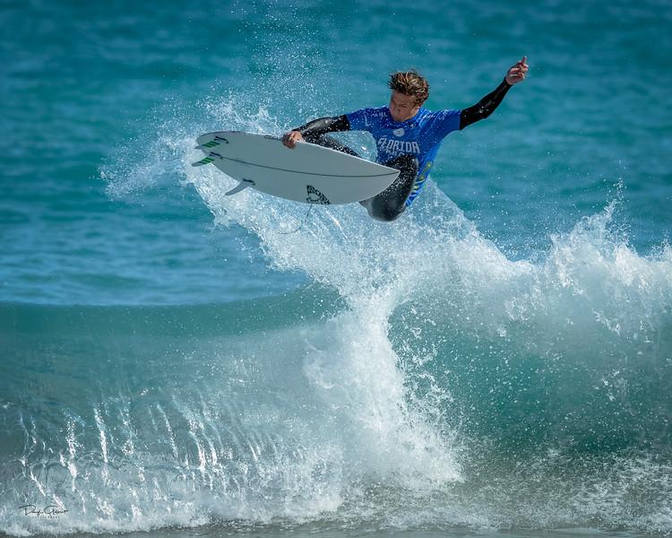"""2019 Florida Men's Pro Surfing Contest Champion"""