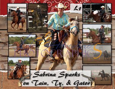 2012 Broken Spoke Mounted Posse Cowboy Mounted Shooting Season