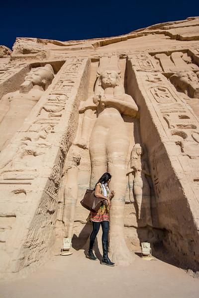 Temples of Nefertari & Ramses II @ Abu Simbel, Egypt