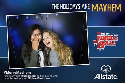 12.2.2016 - Allstate - LA - iHeartRadio Jingle Ball