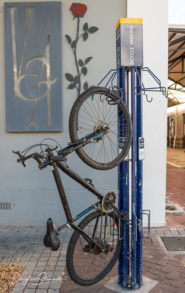 Bike Rack at Cape Town Waterfront