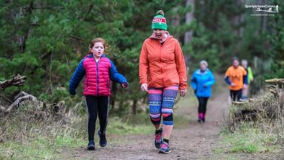 Newborough Forest Park Run - 11 January