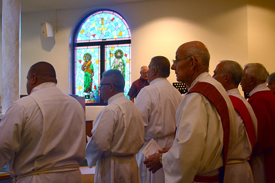 Diaconate Candidates Instituted to the MInistry of Acolyte