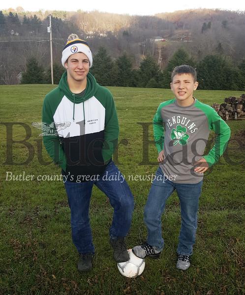 Braden and bernie elliott, soccer