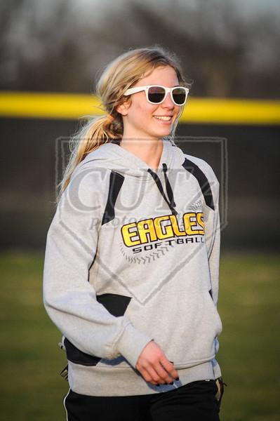 B-E Lady Eagles Softball vs. Troy (02/26/13)