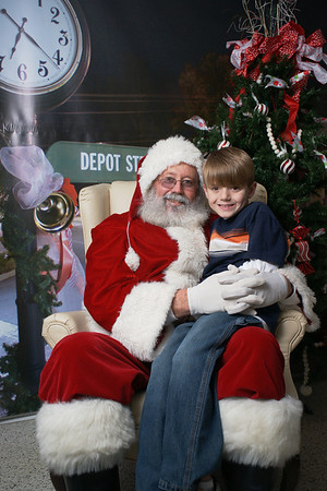 Santa in Old Towne