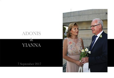 Yianna & Adonis - Wedding Album - FINAL