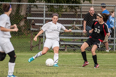 2012 PHS JV Girls Soccer vs New Albany