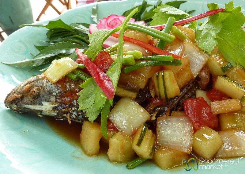 White Snapper in Sweet and Sour Sauce - Koh Samui, Thailand