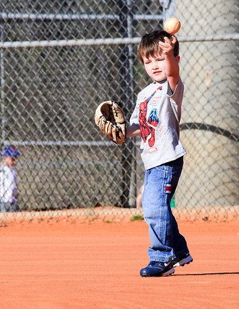 Tball 4th practice