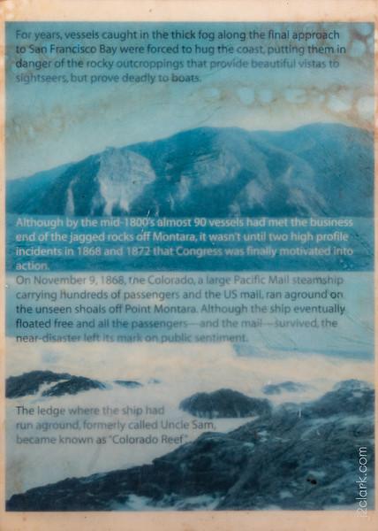 Montara Lighthouse History - Panel 1
