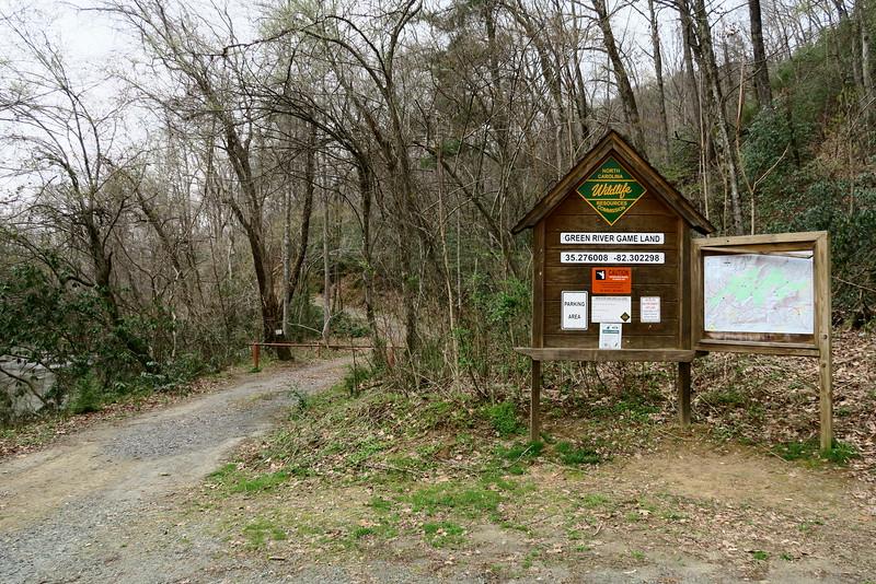 Green River Game Land Trailhead