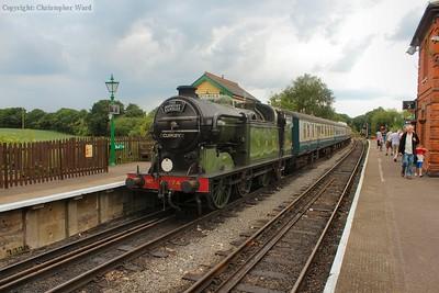 Epping Ongar Railway Steam Gala - June 2016