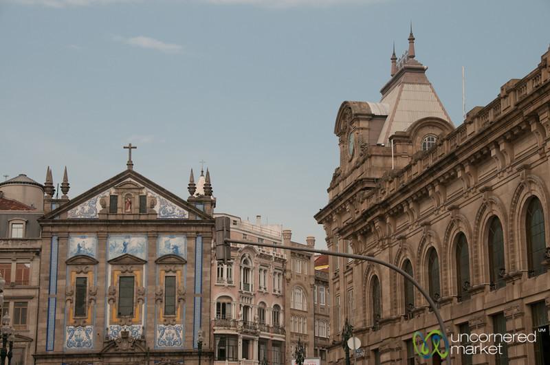 Avenida dos Aliados - Porto, Portugal