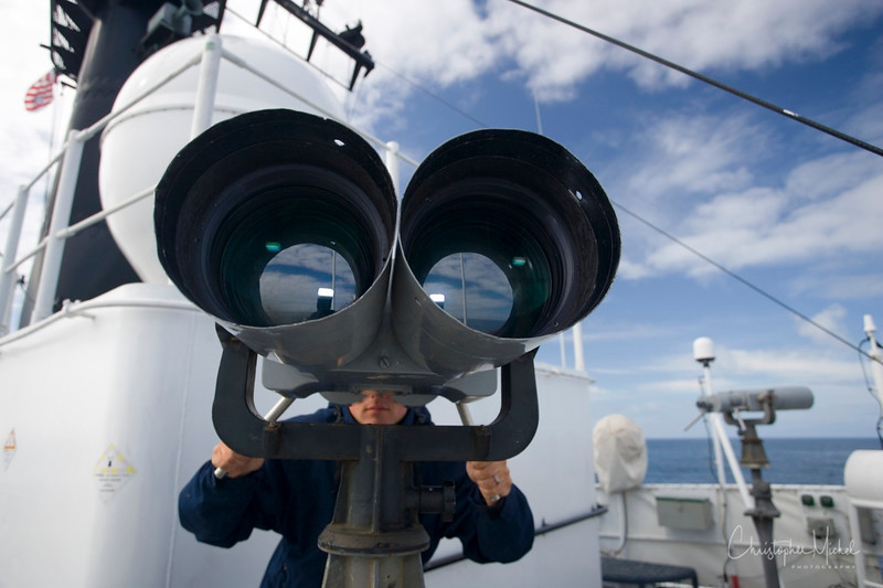 big eyes - aboard uscgc morgenthau