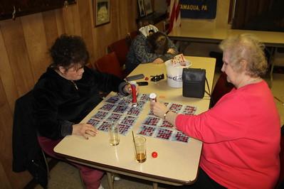 Bingo, American Legion, Tamaqua (4-26-2014)