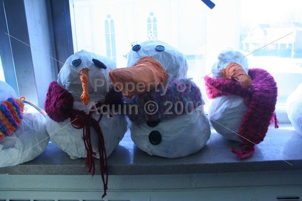 4th-5th grade snowmen . 1.22.10