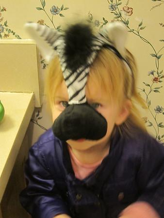 Hallway Ball & Animal Masks