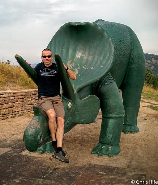 Dinosaur Park in Rapid City