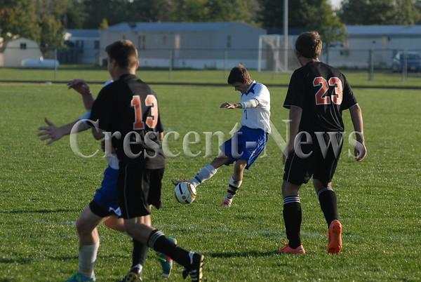 10-16-13 Sports Fort Jennings @ Continental Boys Soccer