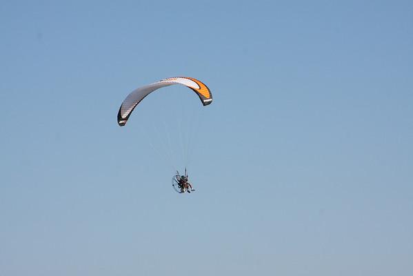 Flying the Beach