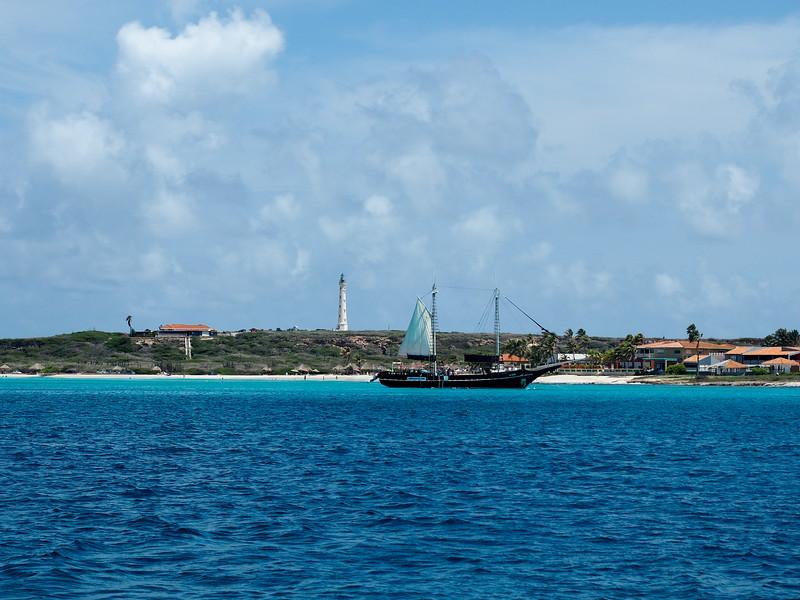 Aruba boat trip