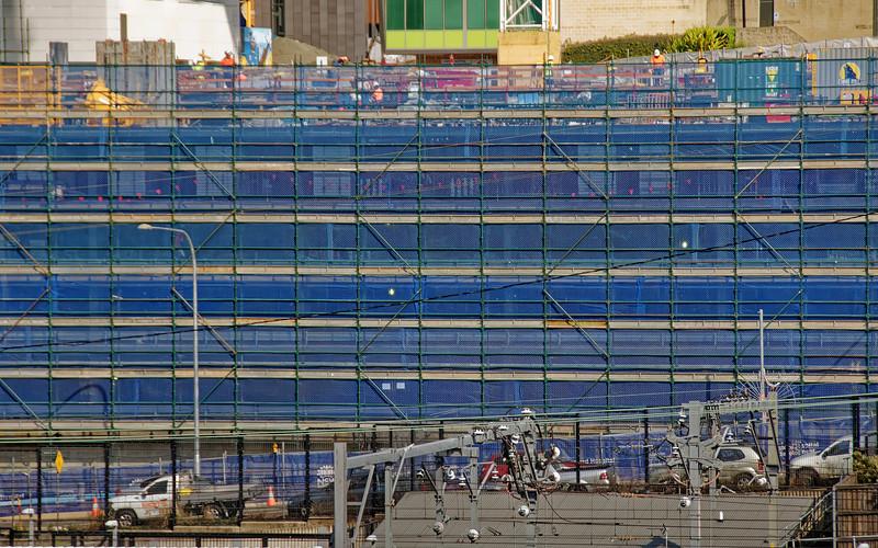 Gosford Hospital building progress H34ed September 2018.