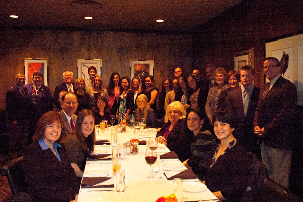 10/26/11 Lamendola Dinner Group Photo