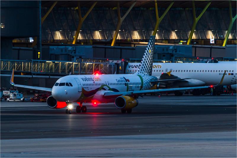 Vueling / Airbus A320-232(WL) / EC-MOG / Cantabria Livery