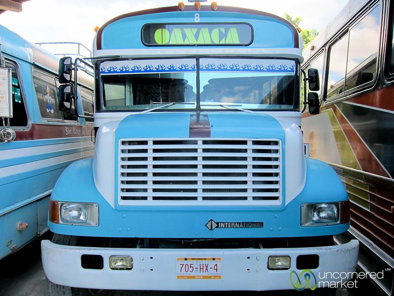 Oaxaca Bus - Mexico