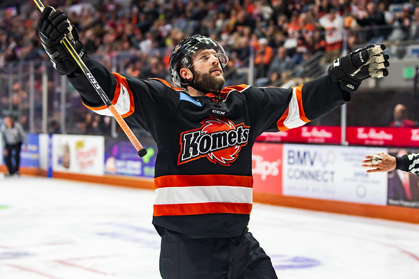 11/24/18 Komets vs. Cyclones