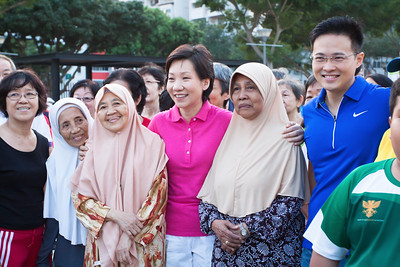 Tampines East Ministerial Visit