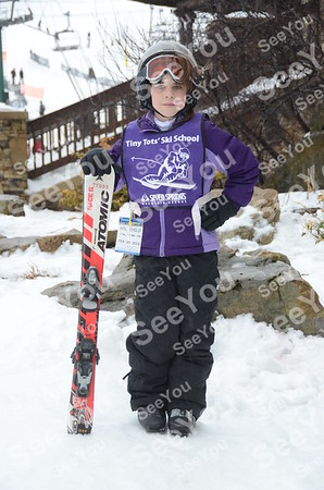Tiny Tots Ski School 2-19-13