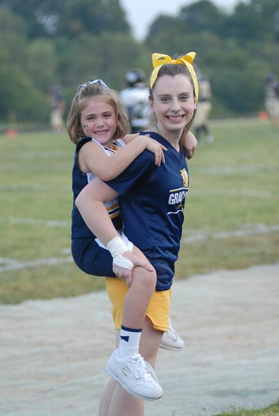 GCHS Cheerleaders 2011-2012