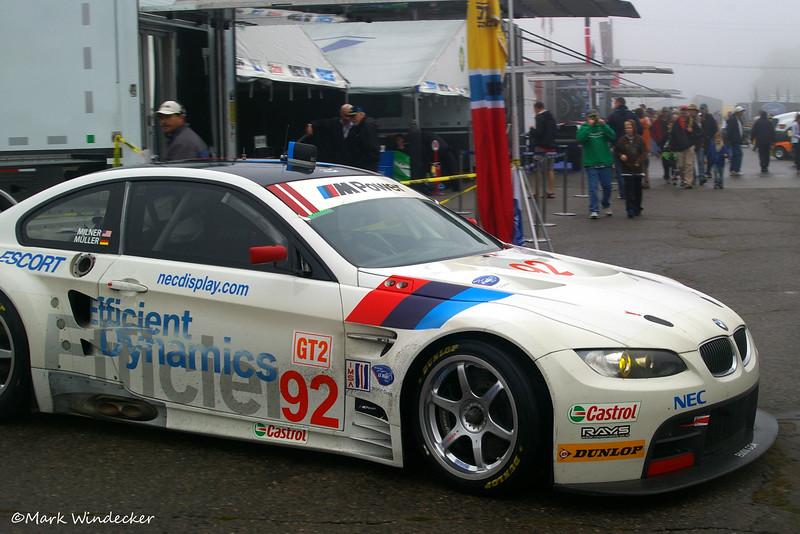 GT2-Rahal Letterman Racing BMW M3 E92