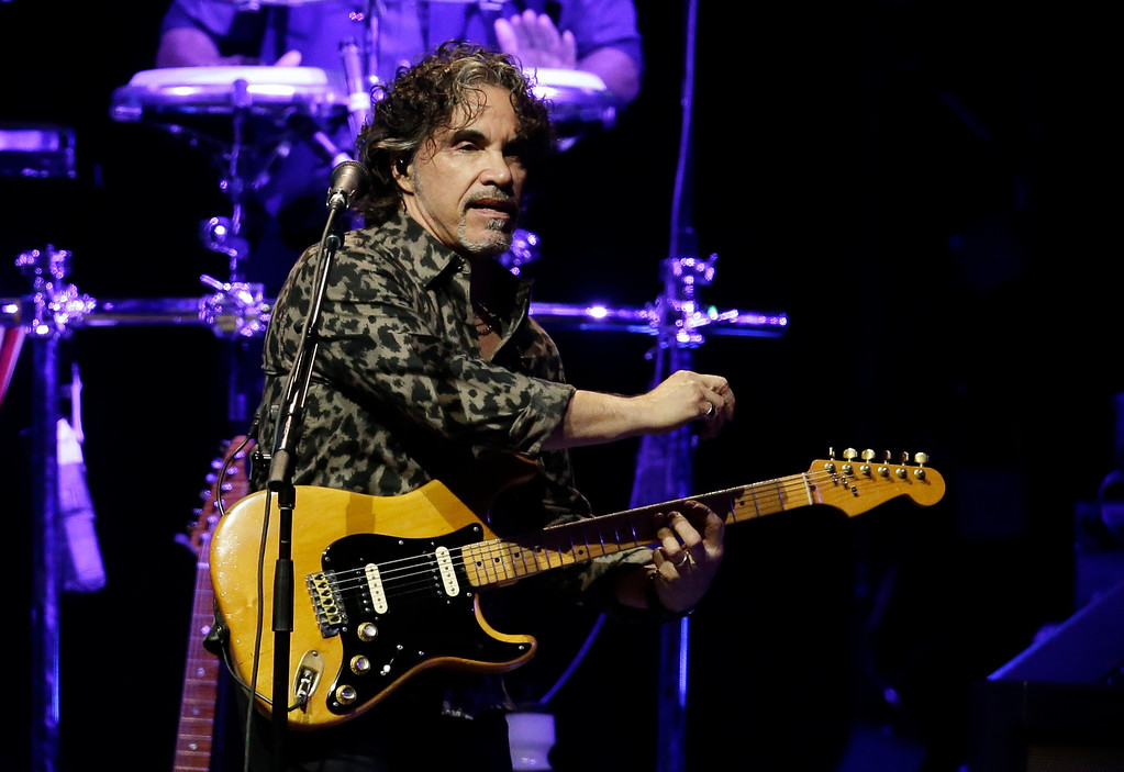 . 2014 Rock & Roll Hall of Fame Inductee John Oates - the singer, songwriter and record producer best known as half of the rock and soul duo Hall & Oates - performs Sept. 15 at the Rock & Roll Hall of Fame and Museum with the Good Road Band. For more information, visit rockhall.com/inductee-john-oates-performance. (Photo by Rick Scuteri]/Invision/AP, File)