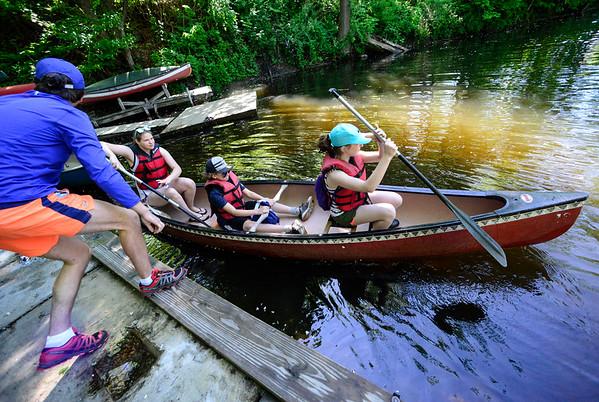 Canoeing field trip - 060117