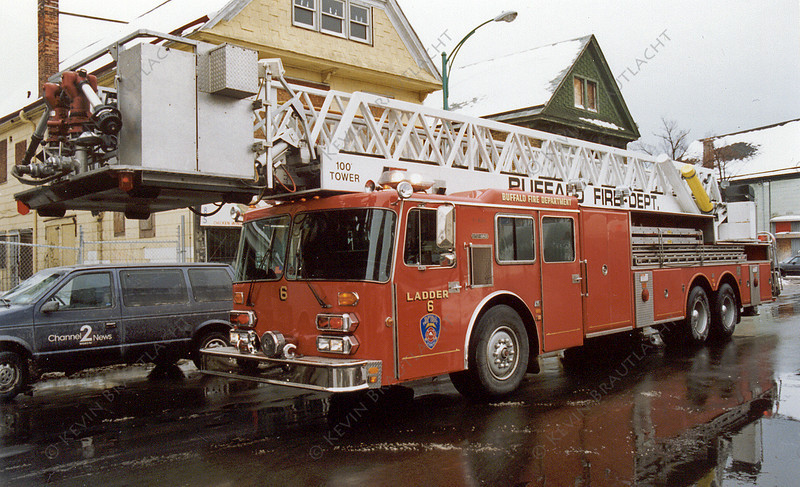 Ladder 6 Buffalo Fire Department