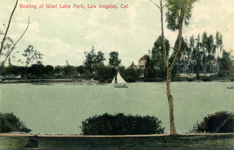 Boating at West Lake Park