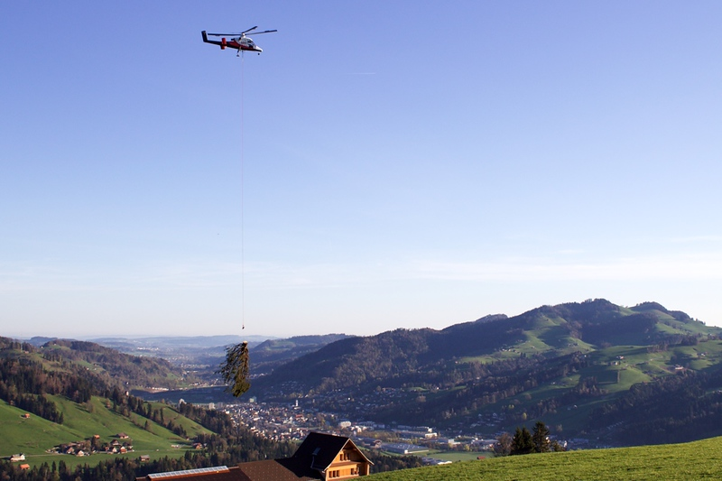 Büntberg, Wattwil, 19. April 2018.