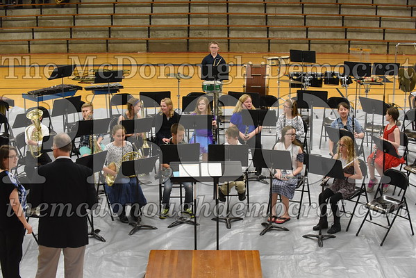 JH/HS Band Spring Program 05-03-17